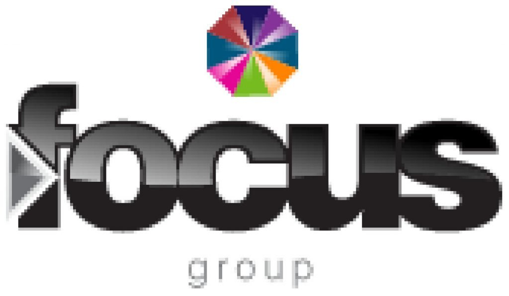 This infographic shows the logo for the Focus Group business phone systems company.