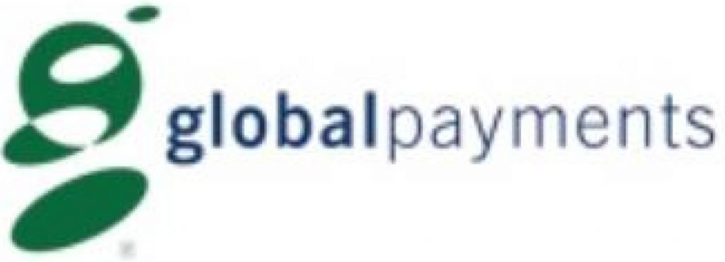 This infographic shows the global payments merchant accounts logo