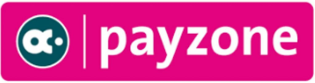 This infographic shows the payzone merchant accounts logo